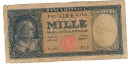 Italy 1000 Lire 15/09/1959 - 1000 Lire