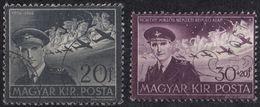 UNGHERIA - 1942/1943 - Due Valori Usati: Yvert 52 E 57. - Luftpost