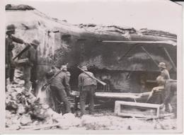 SCHWERES SOWJETISCHES PANZERWERK FOTO DE PRESSE WW2 WWII WORLD WAR 2 WELTKRIEG Aleman Deutchland - Guerra, Militares
