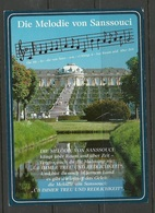 Deutschland POTSDAM Schloss Sanssouci With Weinbergterrassen Sent 1998 With Stamp - Potsdam
