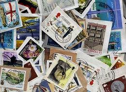 BID Guernsey KILOWARE MissionBag 1 KG (2LB-3oz) 50% Comm./50% Def. Modern - Stamps