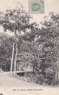 BEL AIR, MAHE. SEYCHELLES. CIRCULEE 1909 A PRAGUE. S.S. OHASHI PHOTO-RARE-BLEUP - Seychellen