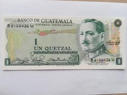 GUATEMALA 1 QUETZAL 1981 - Guatemala