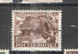Polonia PO 1952 Impianto Auto    Scott.563 See Scan On Schaubek Page; - 1944-.... Repubblica