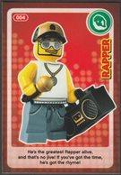 Lego Trading Card - Create The World - 004 Rapper - Sammelkartenspiele (TCG, CCG)