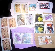 BID Isle Of Man KILOWARE Stampbag 1 KG (2LB-3oz) Commen. Stamp Mexture IOM - Stamps