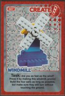 Lego Trading Card - Create The World - 007 Windmill - Trading Cards