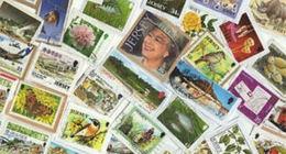 BID Jersey StampBag 1 KG (2LB-3oz) KILOWARE - Stamps