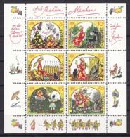 G.D.R/1984 - Dead Tsar's Daughter & Seven Warriors/Toten Zarentochter Und Den 7 Recken - Mini Sheet - MNH - [6] Democratic Republic