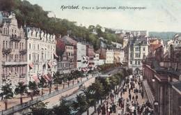 KARLSBAD. KREUZ U. SPRUDELGASSE. MUHLBRUNNENQUAI. OTTMAR ZIEHER. CIRCA 1900s CZECH REPUBLIC. TBE-BLEUP - Tsjechië