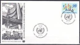 UN/Vienna/1979 - Birds In Flight/Vögel Im Flug - 5 S - FDC Geneva Cachet - FDC
