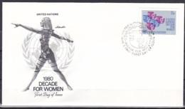 UN/New York/1980 - Decade For Women - 15 C - FDC - New-York - Siège De L'ONU