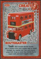 Lego Trading Card - Create The World - 013 Routemaster - Trading Cards