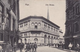 RIGA. DIE BORSE. GEORG STILKE. CIRCA 1920s. LETONIA LATVIA-BLEUP - Letland