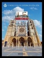 Spain 2018 Mih. 5254 (Bl.310) 12 Months, 12 Provinces: Leon Cathedral MNH ** - 1931-Tegenwoordig: 2de Rep. - ...Juan Carlos I