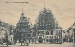 RIGA. SCHWARZHAUPTERHAUS. CIRCA 1900s. LETONIA LATVIA-BLEUP - Letland