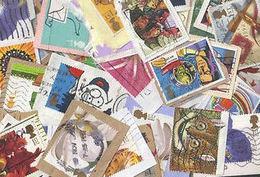 BID Great Britain GoldBag 1 KG (2LB-3oz) Greetings 1990s KILOWARE GB - Stamps