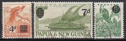 PAPUA NEUGUINEA 1957 - MiNr: 24-26 Komplett  Used - Papua-Neuguinea