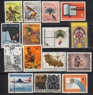 PAPUA NEUGUINEA 1964-1971 - Lot 15x  Used - Papua-Neuguinea