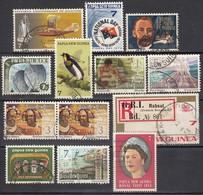 PAPUA NEUGUINEA 1972-1975 - Lot 13x  Used - Papua-Neuguinea