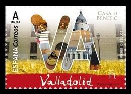 Spain 2018 Mih. 5268 12 Months, 12 Provinces: Valladolid. Fauna. Chipmunk. Ceramics. Motorcycle. Castle MNH ** - 2011-... Ongebruikt