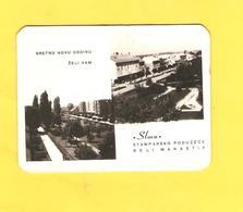 Old Pocket Calendars - Croatia, Beli Manastir 1965 - Calendars