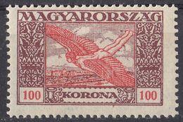 UNGHERIA - 1924 -  Yvert Posta Aerea 6 Nuovo MNH. - Posta Aerea