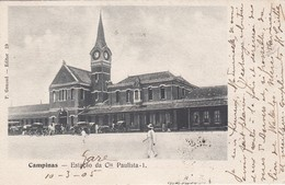 Estação Da Cia.Paulista - Campinas - São Paulo - Station - São Paulo