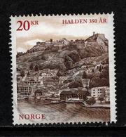 Noorwegen, Yv 1819 Jaar 2015, Hoge Waarde, Gestempeld, Zie Scan - Norvège