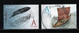 Noorwegen, Yv 1874-75  Jaar 2017,  Gestempeld, Zie Scan - Norvège