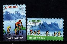 Noorwegen, Yv 1879-90  Jaar 2017,  Gestempeld, Zie Scan - Norvège