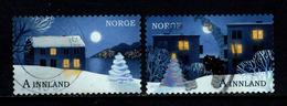 Noorwegen, Yv Jaar 2017, Kerstmis, Gestempeld, Zie Scan - Norvège