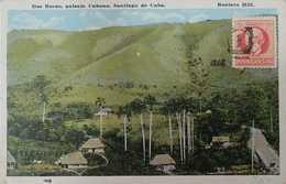 O) 1917 CIRCA- CUBA-CARIBBEAN.SPANISH ANTILLES, RURAL FARM LANDSCAPE CARIBBEAN -DOS BOCAS POSTAL CARD, MAXIMO GOMEZ 2c, - Postcards