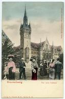 COMIC PHOTO MONTAGE : ALLEMAGNE - BRAUNSCHWEIG - DAS NEUE RATHAUS - Braunschweig