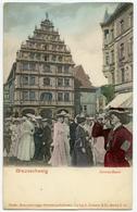 COMIC PHOTO MONTAGE : ALLEMAGNE - BRAUNSCHWEIG - GEWANDHAUS - Braunschweig