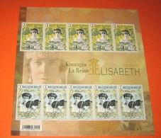 Ongetand Vel Koningin / La Reine (Queen) Elisabeth NON DENTELE!! (50ème Anniversaire Du Décès De La Reine Elisabeth) - Non Dentelés