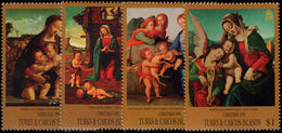 Turks & Caicos Islands 1995 Christmas Unmounted Mint. - Turks And Caicos