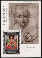 Caicos Islands 1983 Raphael Souvenir Sheet Unmounted Mint. - Turks And Caicos