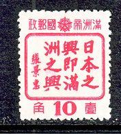 MANCHUKUO  154    * - 1932-45 Mandchourie (Mandchoukouo)