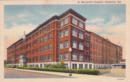 Indiana Hammond St Margaret's Hospital 1940 Curteich - Hammond