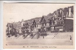 Sp- 14 - HOULGATE - Les Villas Sur La Plage - Timbre - Cachet - - Houlgate