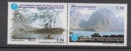 Tajikistan 07.06.2003 Mi # 284-85 Paar, Int'l Forum On Fresh Water (II), MNH OG - Tadjikistan