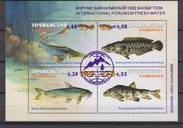 Tajikistan 12.05.2003 Mi # Bl 33, Int'l Forum On Fresh Water (I), MNH OG - Tadjikistan