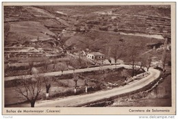 C19- BANOS DE MONTEMAYOR (CACERES) CARRETERA DE SALAMANCA  - (2 SCANS) - Cáceres