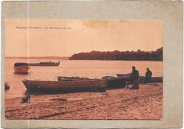 CAZAUX - 33 -  Les Pecheurs Et Le Lac -  DELC33 - - France