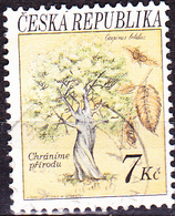 Tschechien Czechia Tchéquie - Weißbuche (Carpinus Betulus) (MiNr: 25) 1993 - Gest Used Obl - Czech Republic