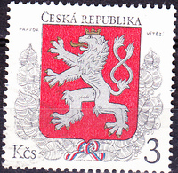 Tschechien Czechia Tchéquie - Staatswappen (MiNr: 1) 1993 - Gest Used Obl - Czech Republic