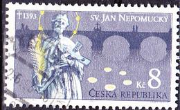Tschechien Czechia Tchéquie - 600. Todestag Von Johannes Von Nepomuk (MiNr: 4) 1993 - Gest Used Obl - Czech Republic