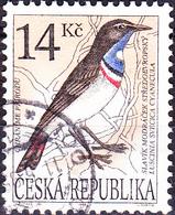 Tschechien Czechia Tchéquie - Weißstern-Blaukehlchen (Luscinia Svecica Cyanecula) (MiNr: 51) 1994 - Gest Used Obl - Czech Republic
