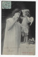 NYMPHE Et AMOUR - 1906 (K87) - Anges